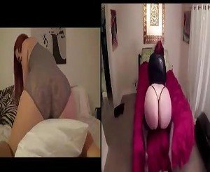 white ass vs. ass competition 2