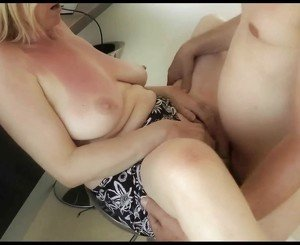 European mature wife fucked and creampied by hubby