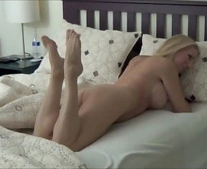 Blonde MILF on MyFavMilf.Com Morning Stretch