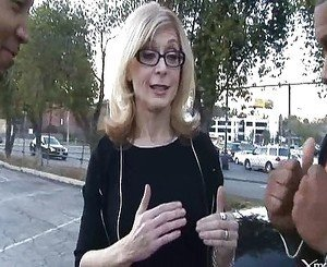 Nina Hartley gets two BBCs
