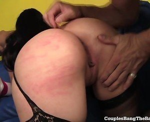 Married Couple Fucks Teen Cheerleader!