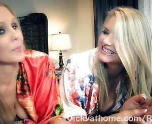 Vicky Vette &amp, Julia Ann's First EVER Video?