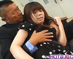 Yumi Takeda has hairy crack aroused big time
