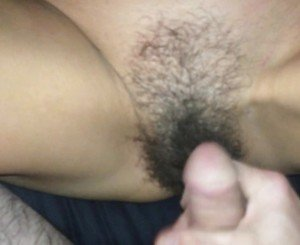 Another load for my 50 yo milfs hairy pussy