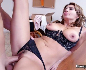 Mia Ryder in Newbie MILF first porno movie Video