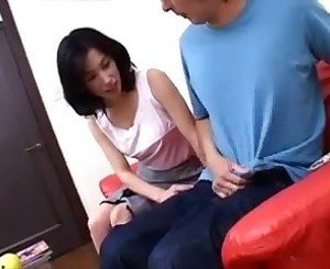 Japanese mature blowjob