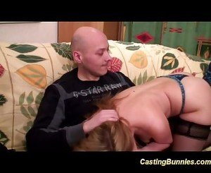 french couple in anal fist casting