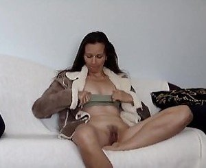 Zita videos herself as she comes on her couch