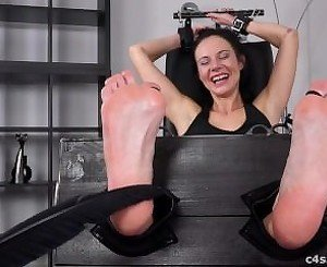 Czech Milf Foot Tickle Torture