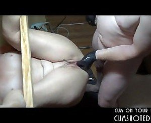 Submissive Amateur MILF Gets Her Holes Filled
