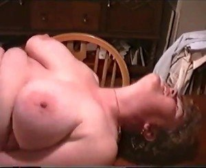 Friend fucks wife on kitchen table
