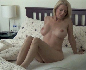 Blonde MILF Morning Stretch