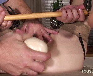 Wife dildo training
