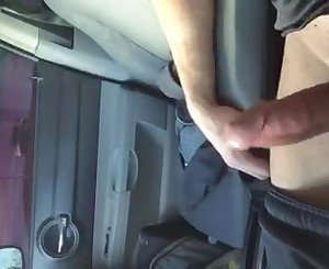 Car dick flash for mature woman