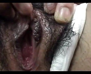 Busty Hairy Japanese Sucks Fucked and Creamed (Uncensored)