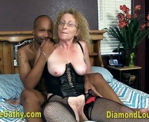 Creampie Cathy on diamondlouxxx.com