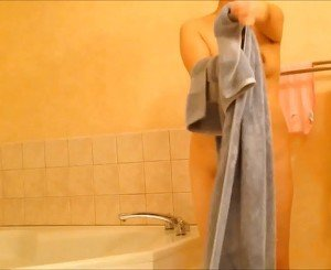 Asian Mature Wife After Shower