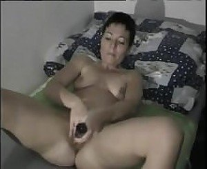 Hot mature showers and masturbates