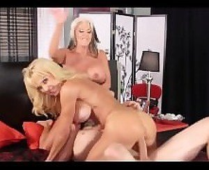 Sally & Cara Share a Big Young Stud