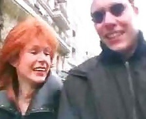 Guy seduces Redhead Milf on street